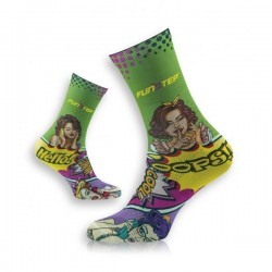 CALCETINES FUNSTEP COMIC VERDE