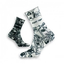 CALCETINES FUNSTEP COMIC NEGRO